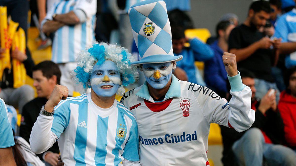 Hinchas argentinos en Copa América 2015
