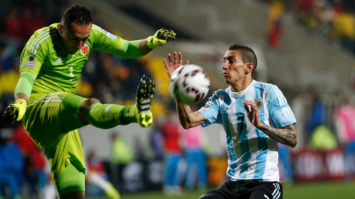 Argentina versus Colombia