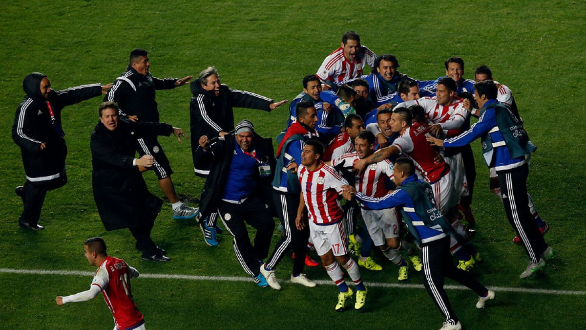 Paraguay elimina a Brasil Copa América 2015