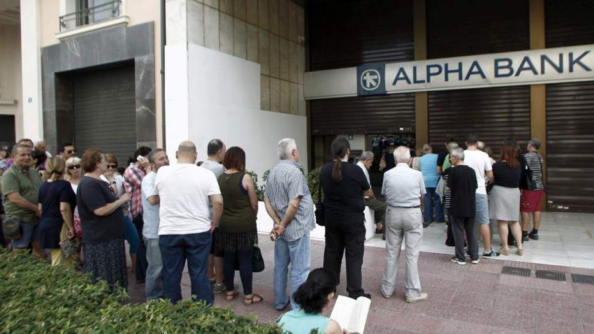 Grecia: Primer Ministro anuncia cierre temporal de los bancos griegos
