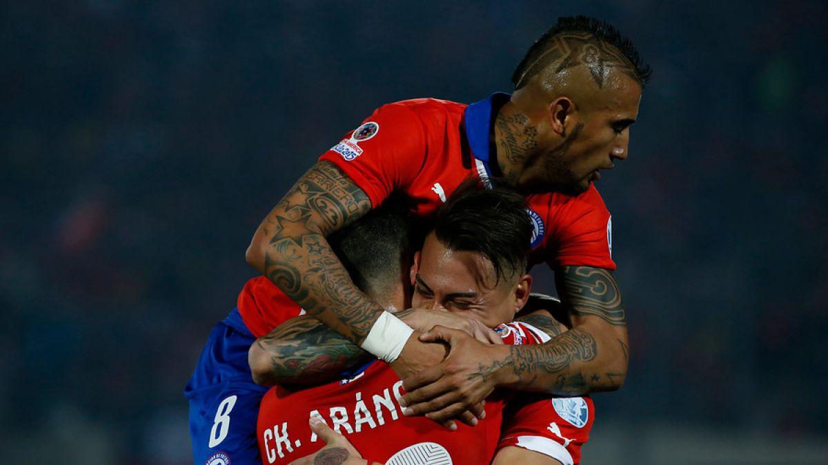 [GOLES] Revisa los goles de Eduardo Vargas en el triunfo de Chile sobre Perú