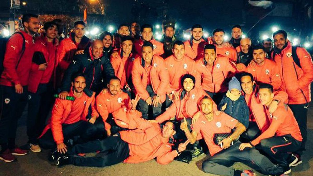 Así celebran los jugadores de La Roja el paso a la final en Redes Sociales