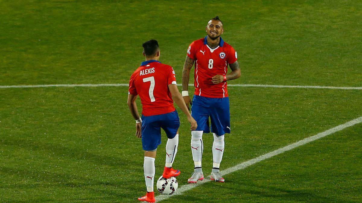 Arsenal y Juventus felicitan a Sánchez y a Vidal por alcanzar la final de Copa América