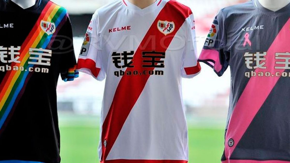 Rayo Vallecano presenta sus nuevas camisetas en homenaje a causas sociales