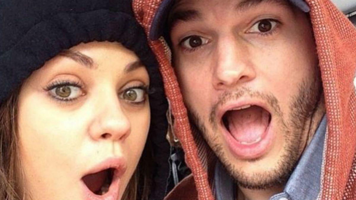 Ashton Kutcher, Mila Kunis revelan nombre de bebé