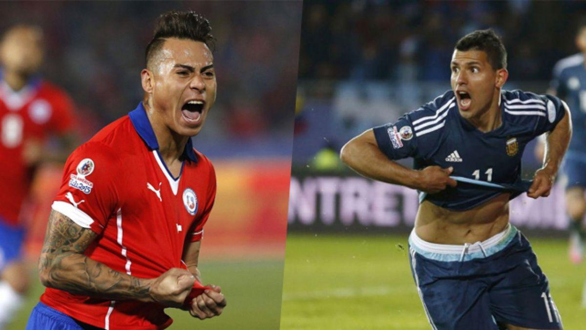 El frente a frente de Chile y Argentina en esta Copa América