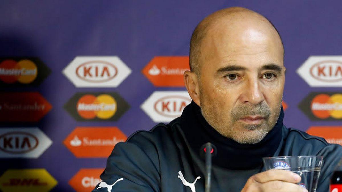 Jorge Sampaoli: La definición del sistema no variará respecto a lo que se ha hecho en esta Copa