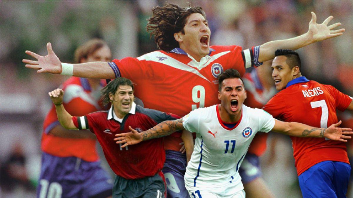 [Infografía] Estos son los 10 goleadores históricos de La Roja