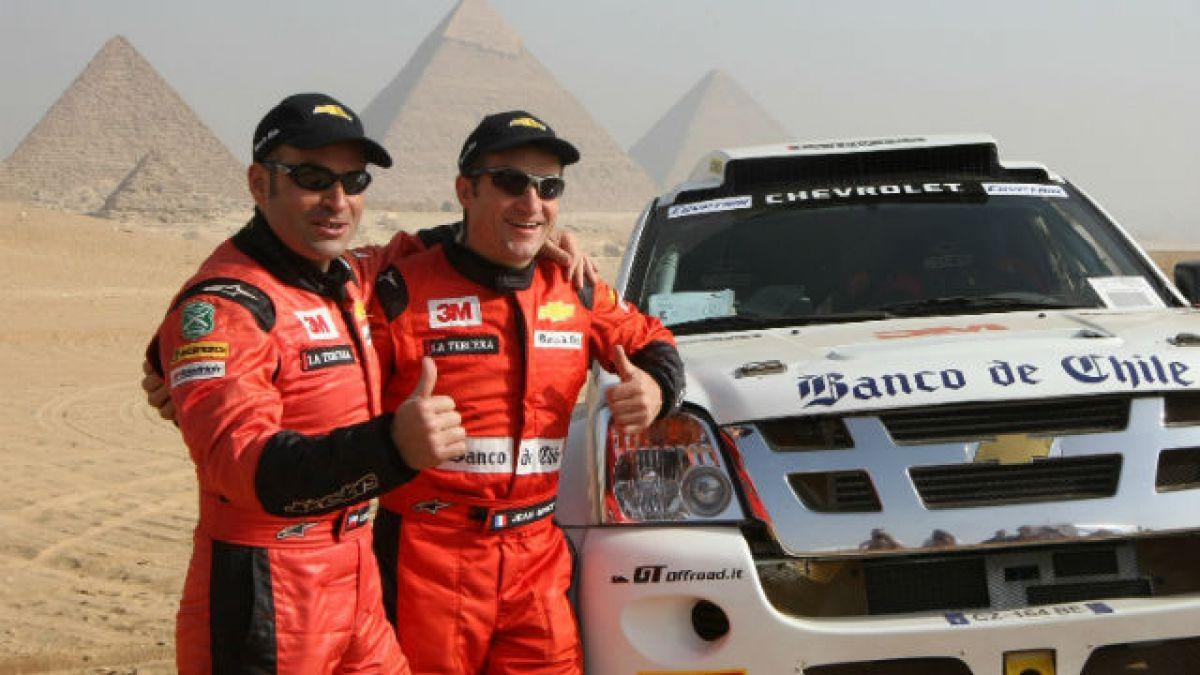 A un año de la muerte de Carlo de Gavardo, el primer chileno que destacó en el Rally Dakar