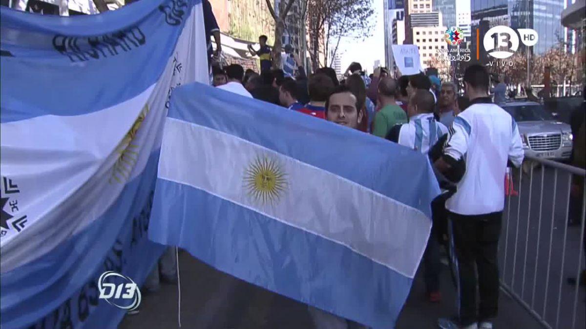 Así siguen en las redes sociales los argentinos la final de la Copa América