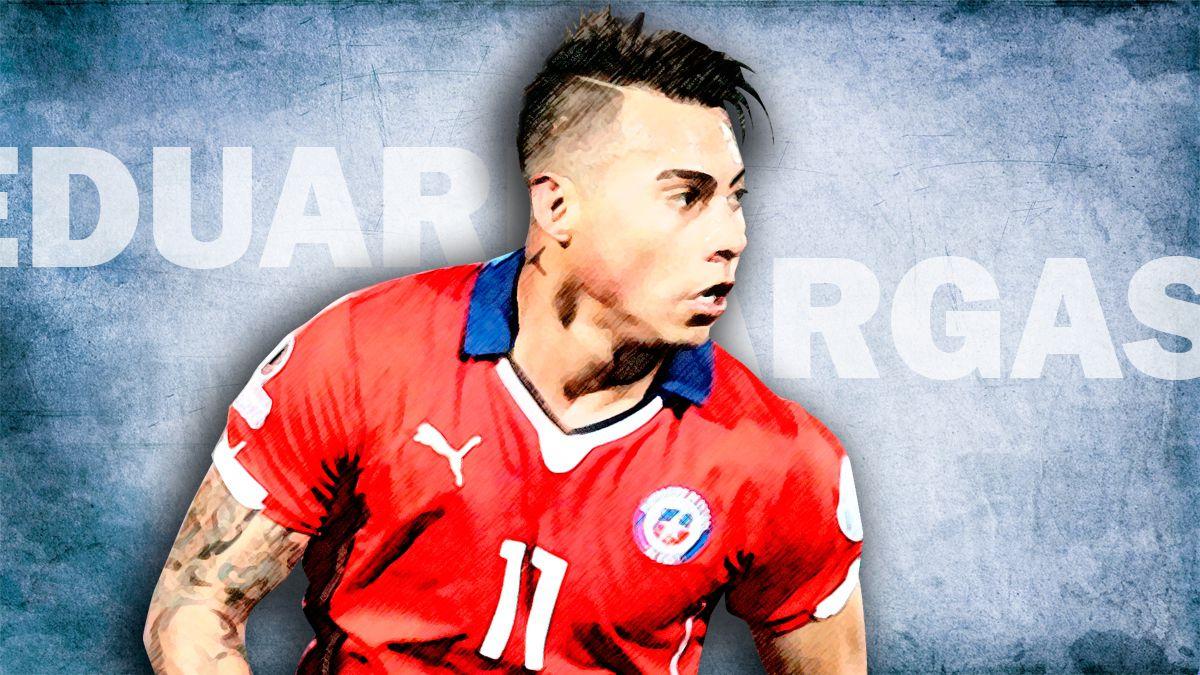[Infografía] Quién es Eduardo Vargas, el goleador de Chile