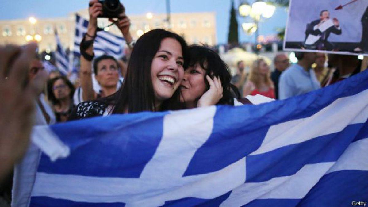 Grecia rechaza la oferta de rescate de la Troika en el referendo