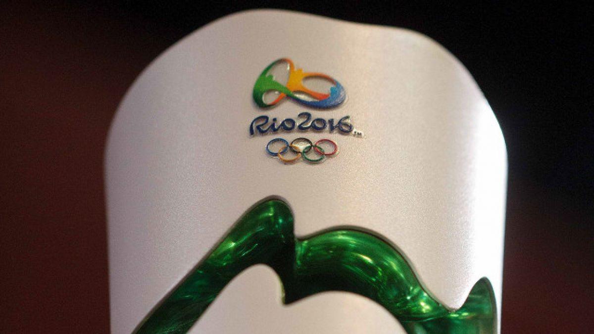 [VIDEO] La presentación de la antorcha de Río 2016