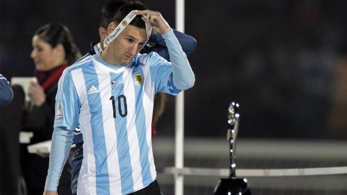 Los ofensivos comentarios contra Chile de un relator argentino en la final