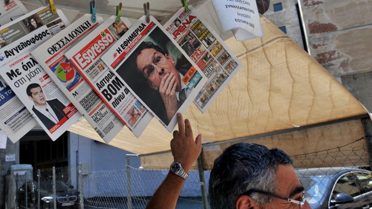 Los griegos quedan en manos del BCE