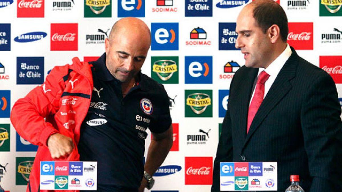 Jadue descarta partida de Sampaoli: Hay técnico de la Selección, no hay de qué preocuparse