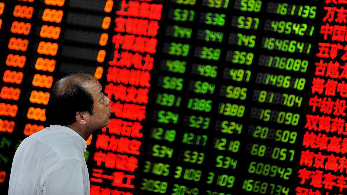 Bolsa de Shanghai cierra con pérdida del 4,27% tras malos datos sobre actividad industrial