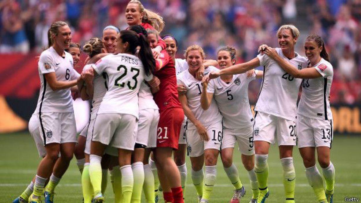 La final del Mundial femenino fue el partido de fútbol más visto de la historia en EE.UU.