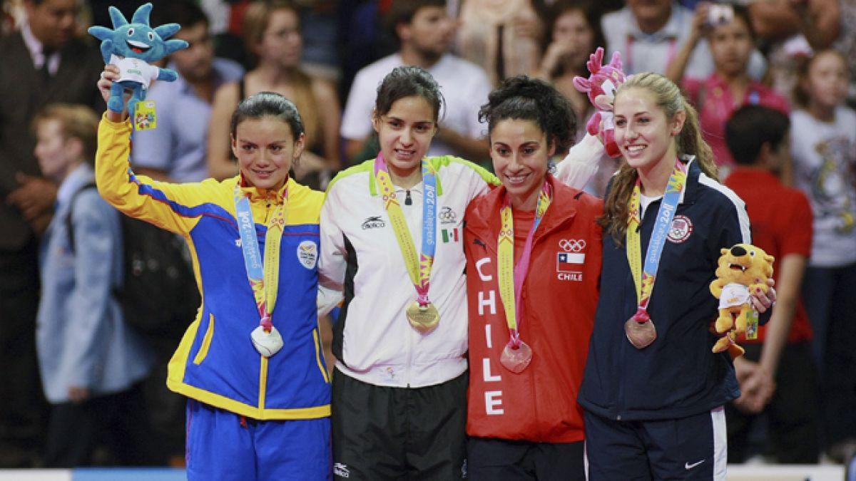 El medalleron histórico de los Juegos Panamericanos
