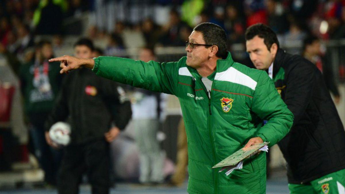 Entrenador de Bolivia amenazó con renuncia en plena Copa América