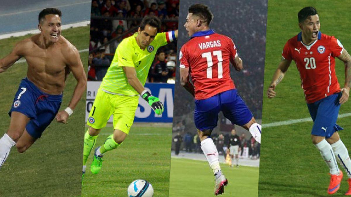 Los nuevos valores de los jugadores de La Roja