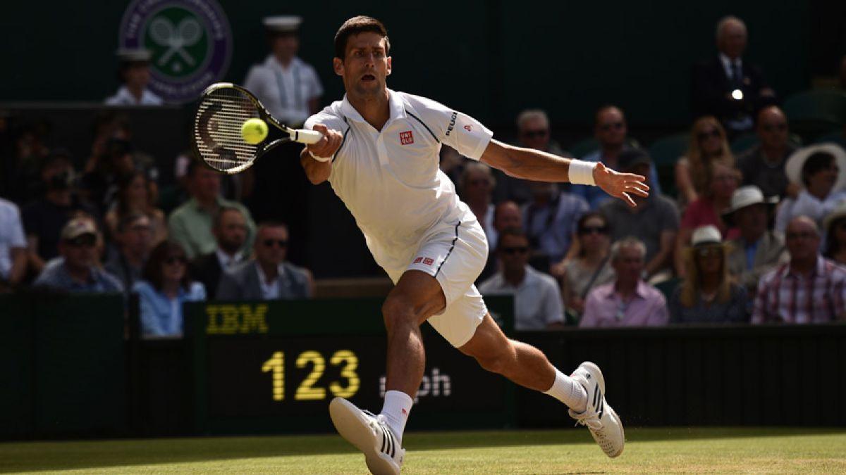 Djokovic vence a Gasquet y avanza a su cuarta final de Wimbledon