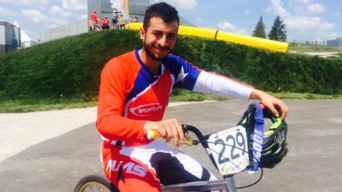Elías Aguirre clasifica a la Súper Final de ciclismo BMX en Toronto 2015