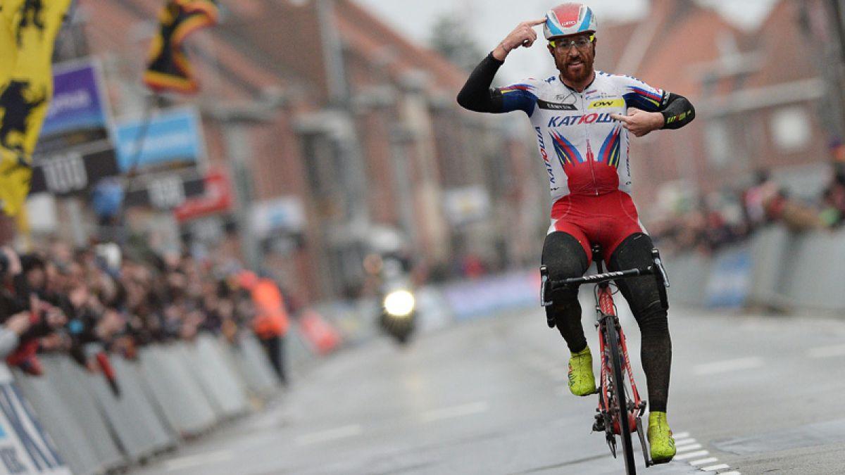El italiano Luca Paolini da positivo por cocaína en el Tour de Francia y es expulsado de su equipo