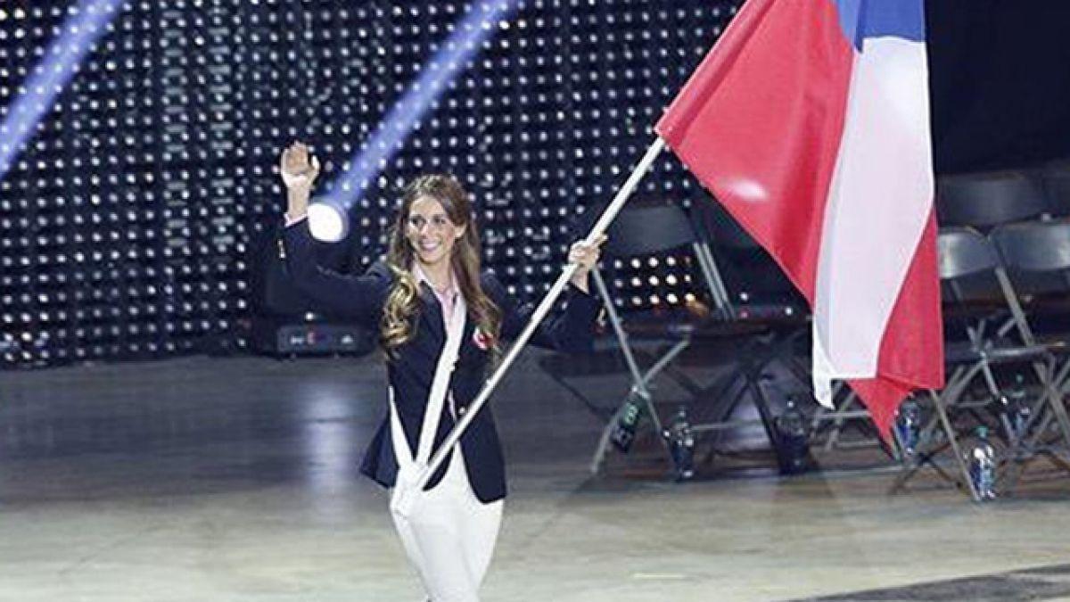 Isidora Jiménez se lució en la ceremonia inaugural de los Juegos Panamericanos