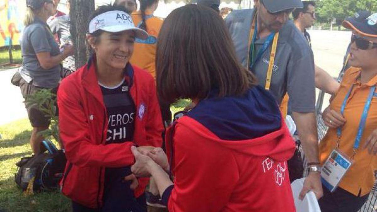Bárbara Riveros también recibe felicitaciones del Gobierno tras su oro en Toronto 2015