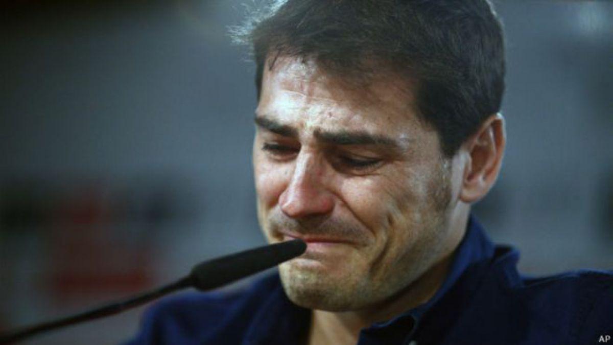 Hasta las lágrimas: El emotivo adiós de Iker Casillas del Real Madrid