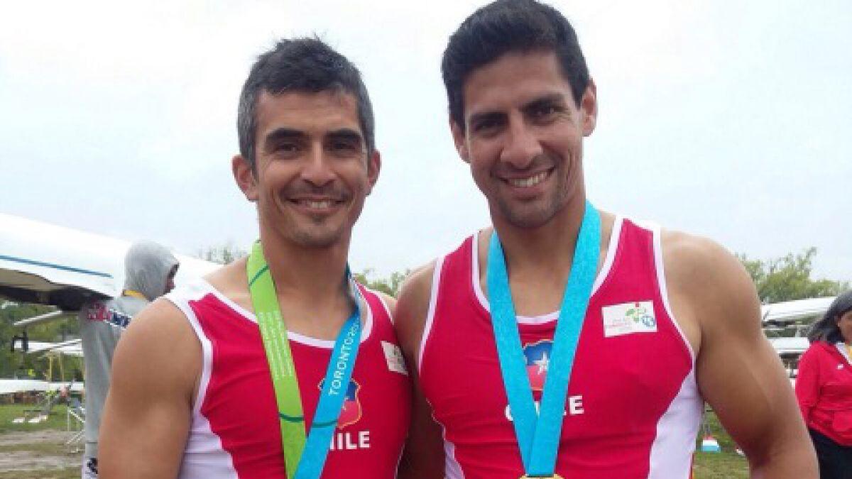 Otra medalla desde el remo: tercer oro para Chile