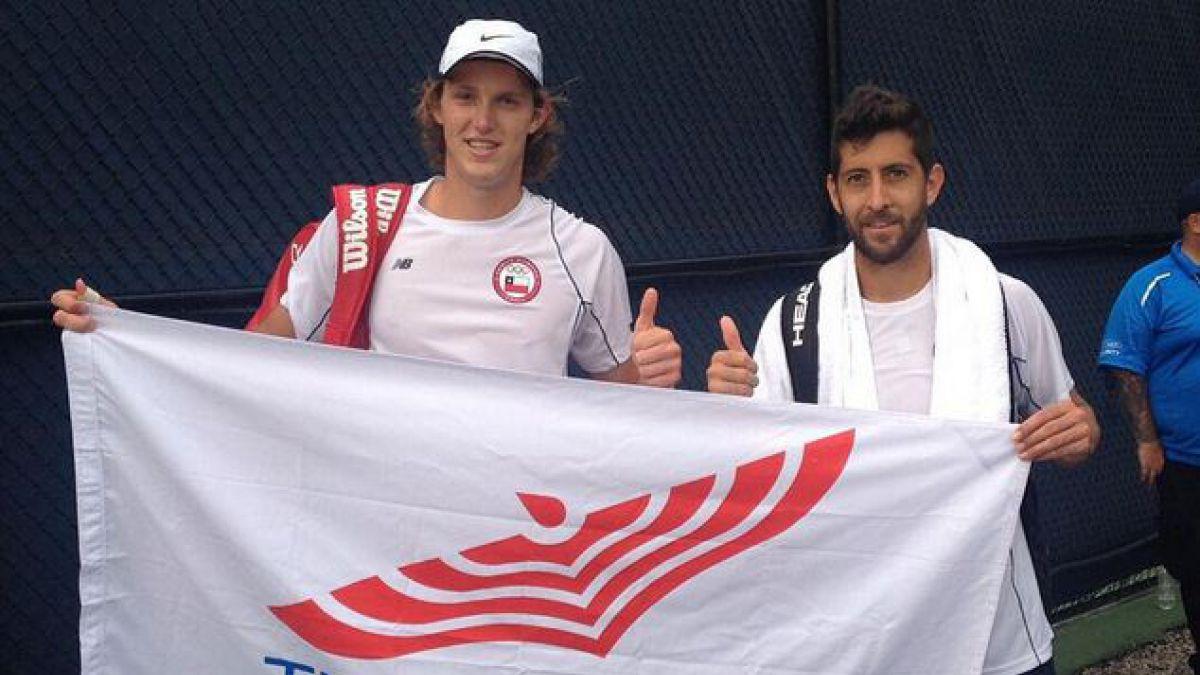 Nicolás Jarry y Hans Podlipnik pasan a la final de dobles en tenis en Toronto 2015