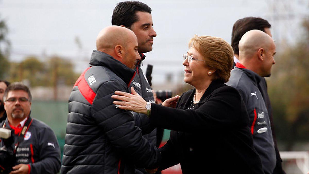 """Presidenta Bachelet anuncia un nuevo """"búnker"""" para la Selección chilena"""