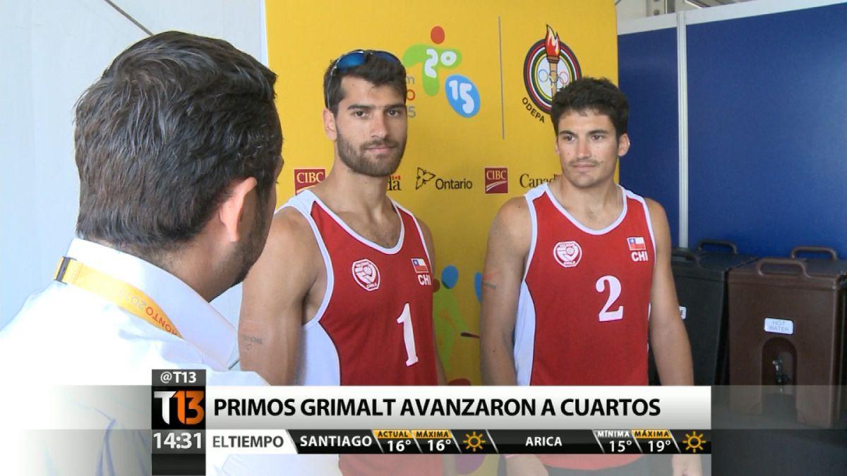 Toronto 2015: Los chilenos que van por el oro en el vóleibol playa