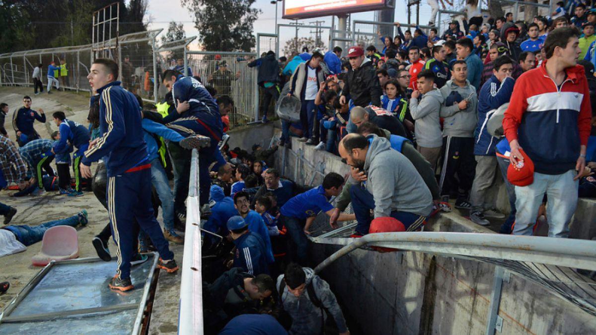 Gobierno se querella por incidentes en Estadio Fiscal de Talca