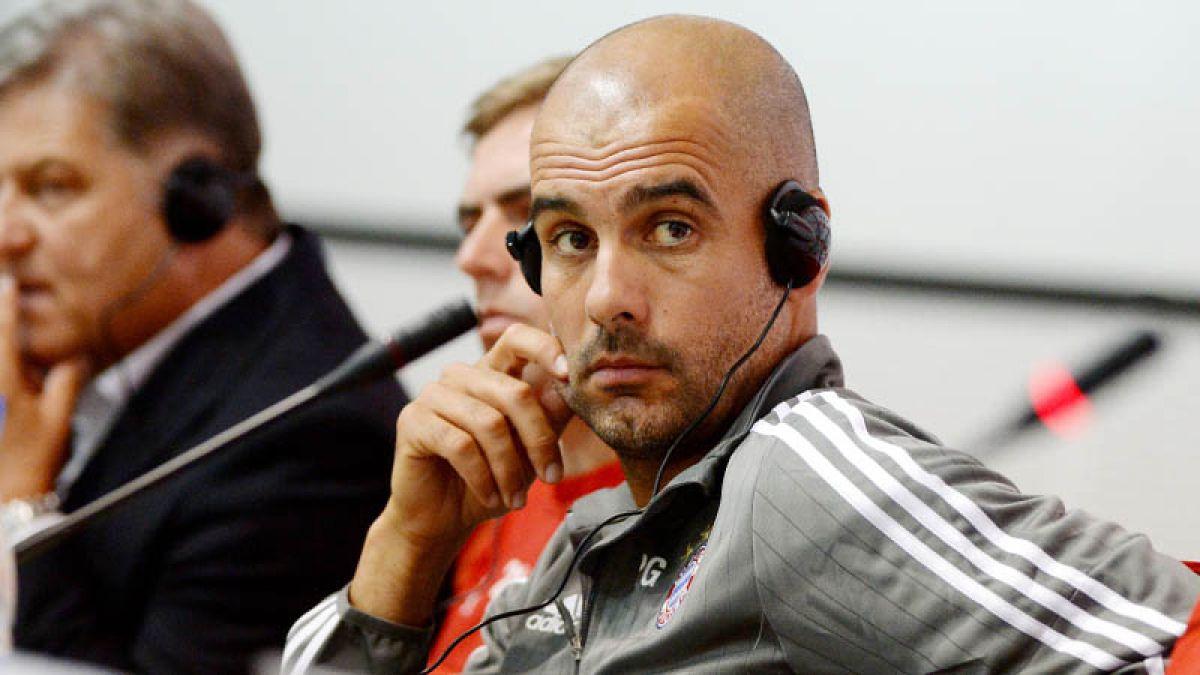 Pep Guardiola descarta que fichaje de Vidal esté cerrado: No hemos firmado el contrato