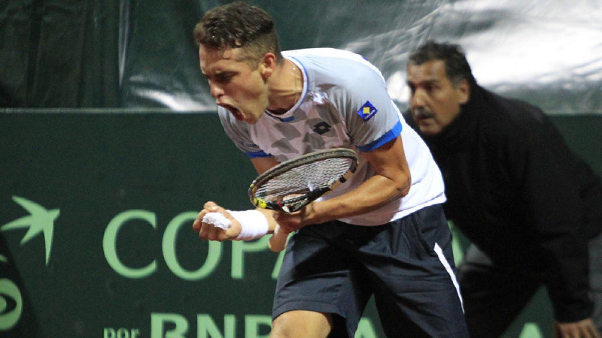 Juan Carlos Sáez triunfa y entrega el primer punto a Chile en la Copa Davis