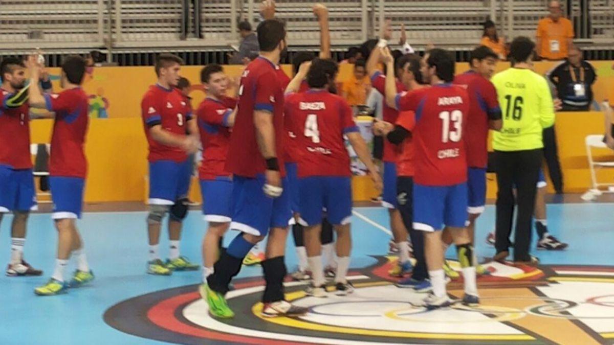 Toronto 2015: Selección de Chile de balomano consigue un importante triunfo