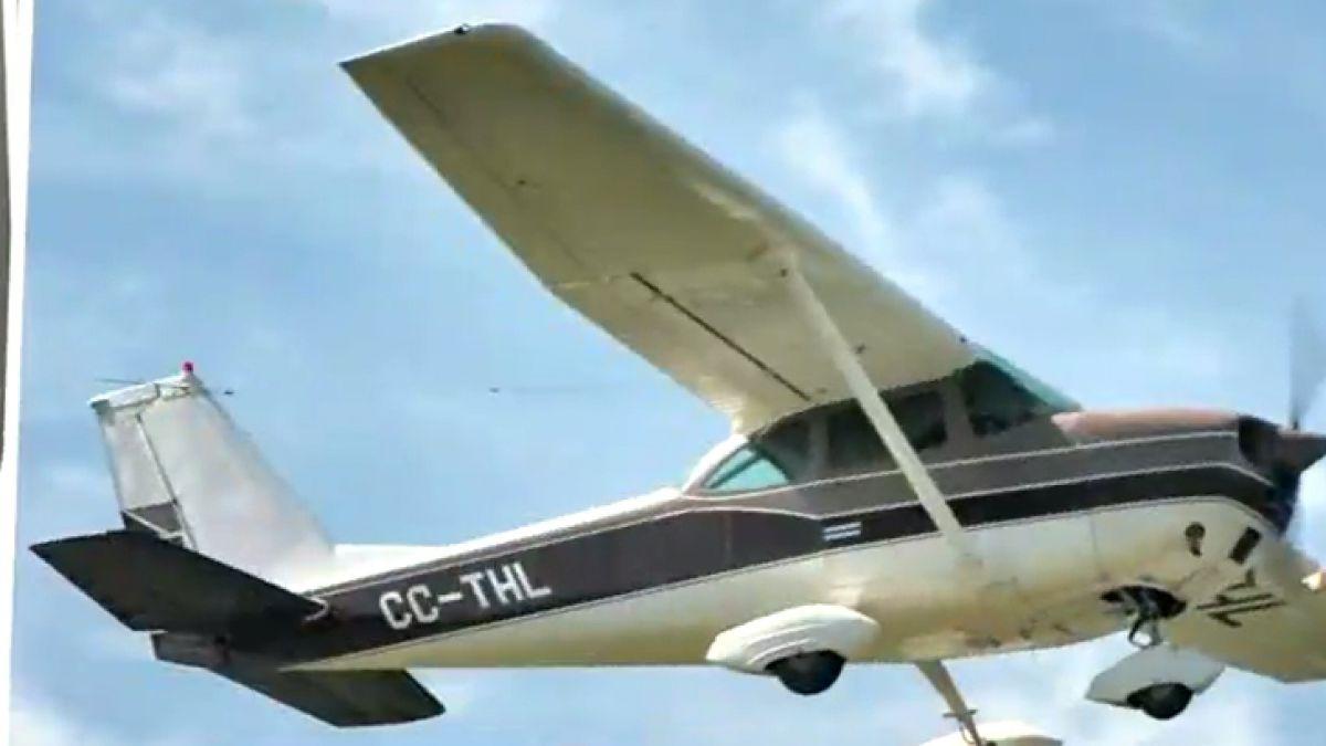 Se estrelló una avioneta y hay un piloto desaparecido
