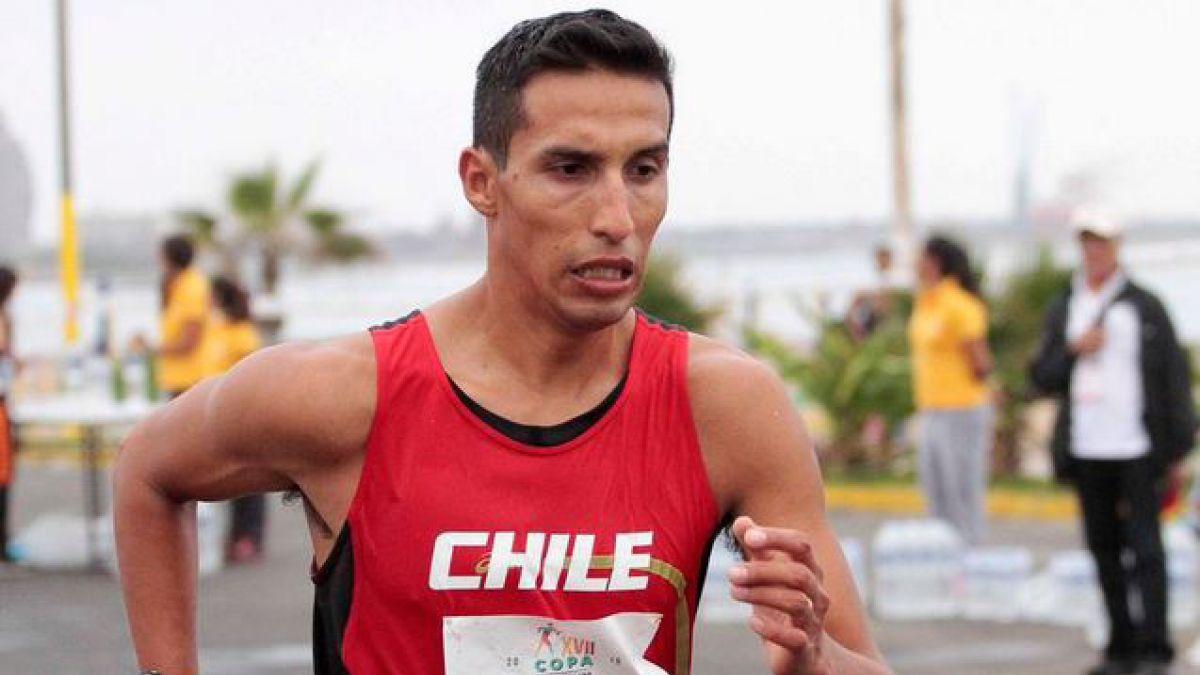 Yerko Araya finaliza en el lugar 50 en la competencia de marcha de 20 kilómetros