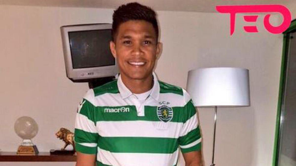 Teo Gutiérrez deja River Plate para jugar en el Sporting de Lisboa