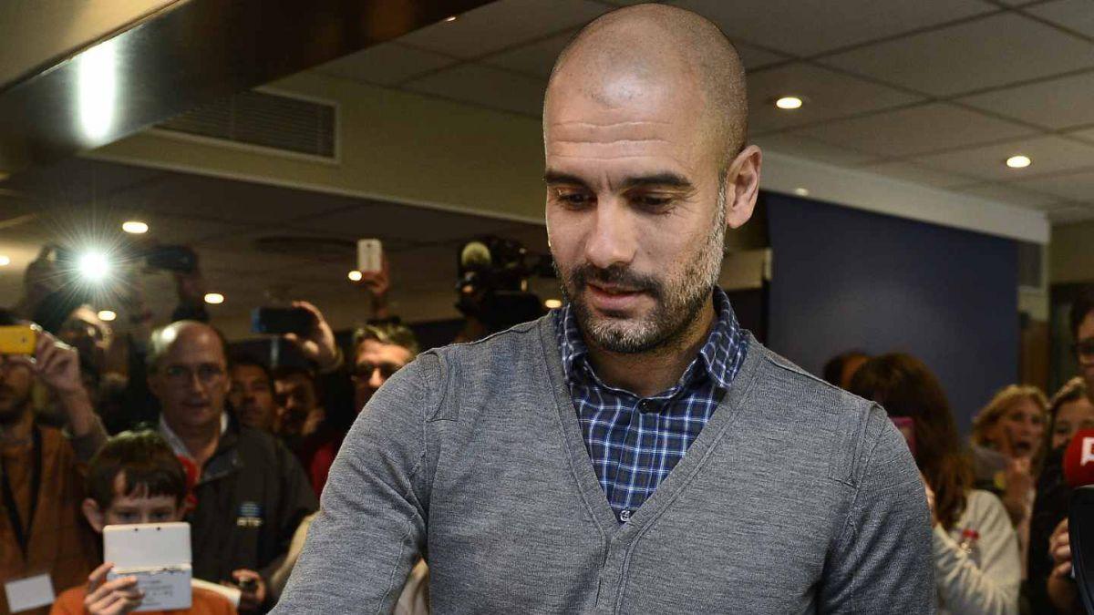 Habló el jefe: Guardiola se refirió al fichaje de Vidal en el Bayern