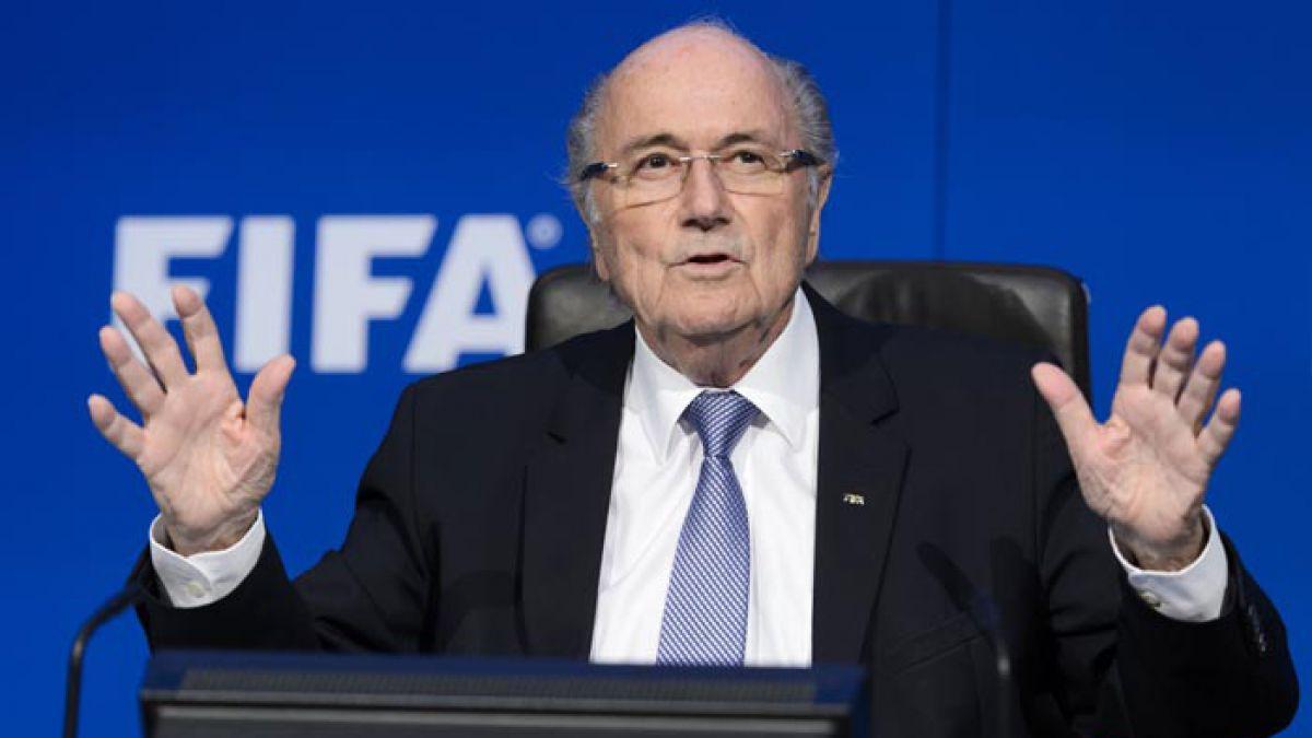 Joseph Blatter confirma que no se presentará a las nuevas elecciones de la FIFA
