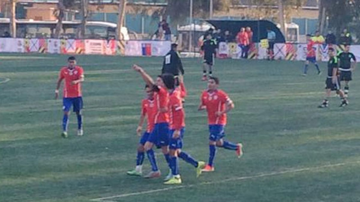 Chile vence por goleada a la selección de México en Copa Indígena 2015