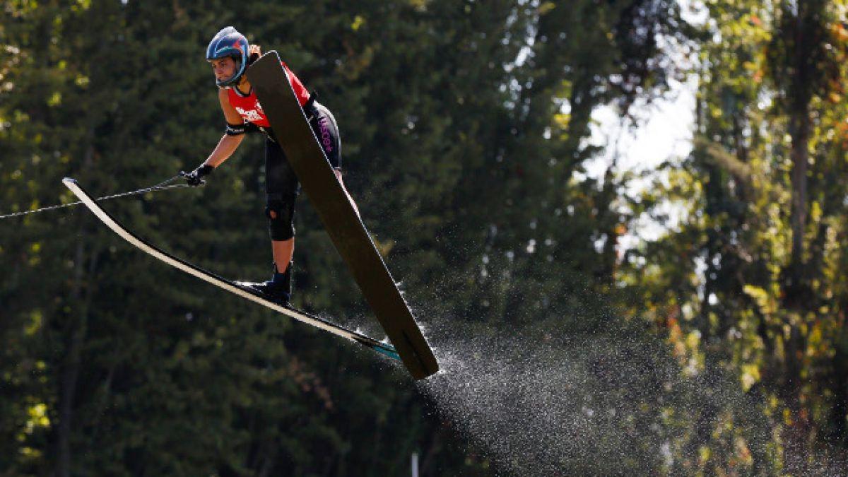 Chilenos de esquí náutico avanzan a las finales en Toronto 2015
