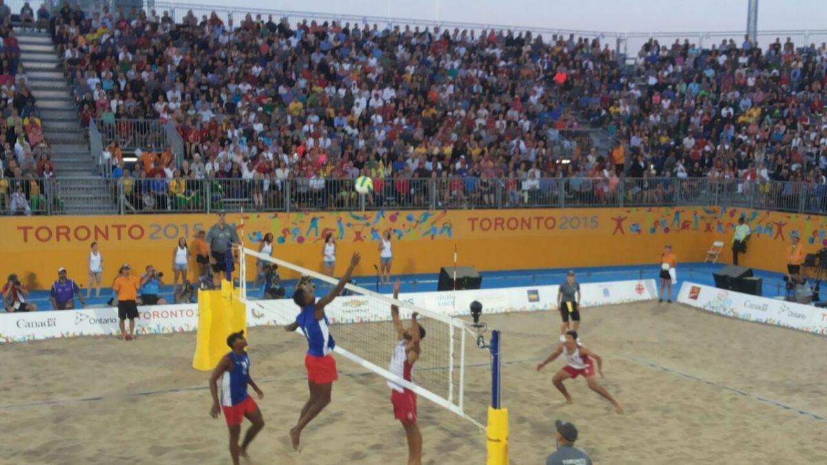 Hermanos Grimalt terminan cuartos en el vóleibol playa en Toronto