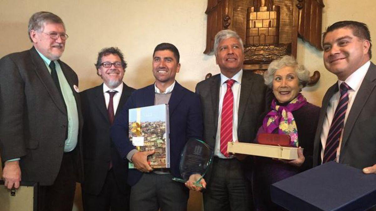 David Pizarro es reconocido como Ciudadano Patrimonial de Valparaíso
