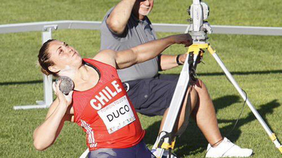 Natalia Ducó logra medalla de bronce en Iberoamericano de Atletismo de Río de Janeiro