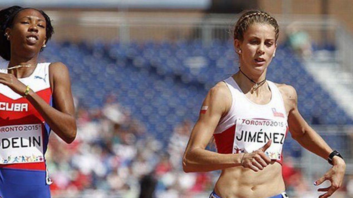 Isidora Jiménez clasifica a Río 2016 con nuevo récord de Chile en 200 metros planos
